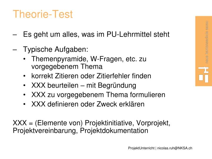 Theorie-Test