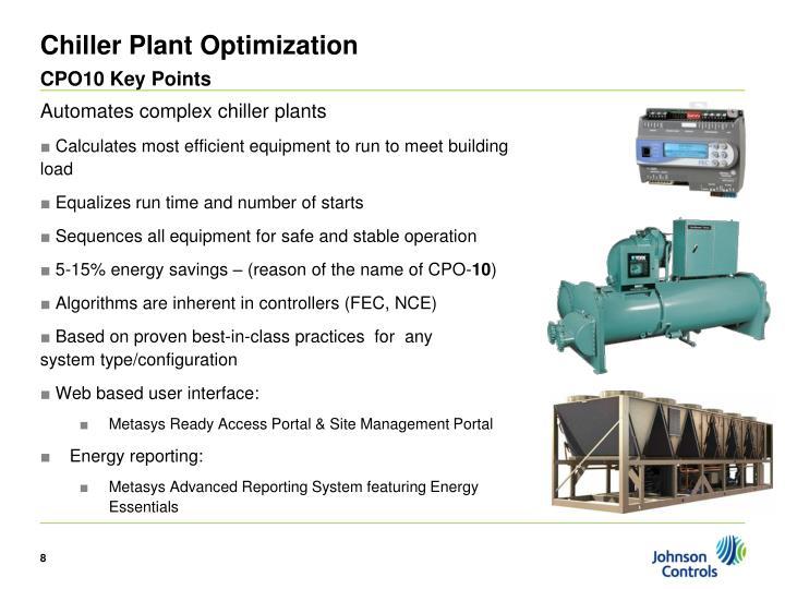 Chiller Plant Optimization