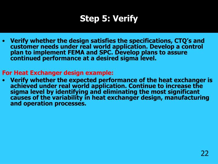 Step 5: Verify