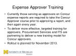 expense approver training