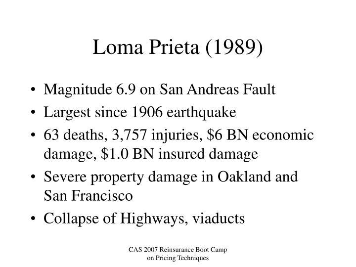 Loma Prieta (1989)
