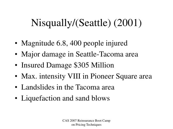 Nisqually/(Seattle) (2001)
