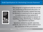 guide specifications for interlocking concrete pavement1