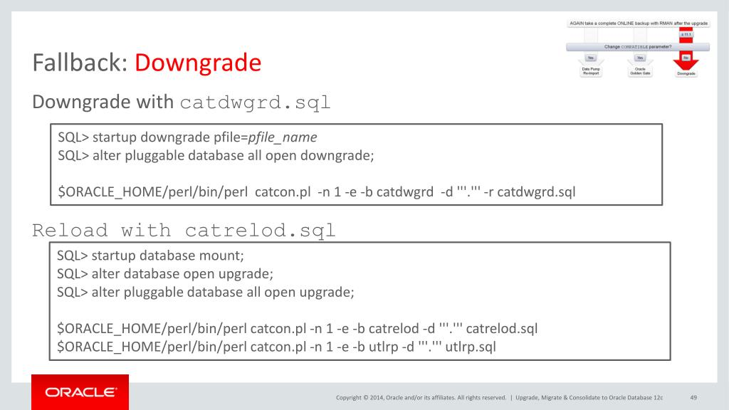 PPT - How an Oracle Database 12 c Upgrade Works in a
