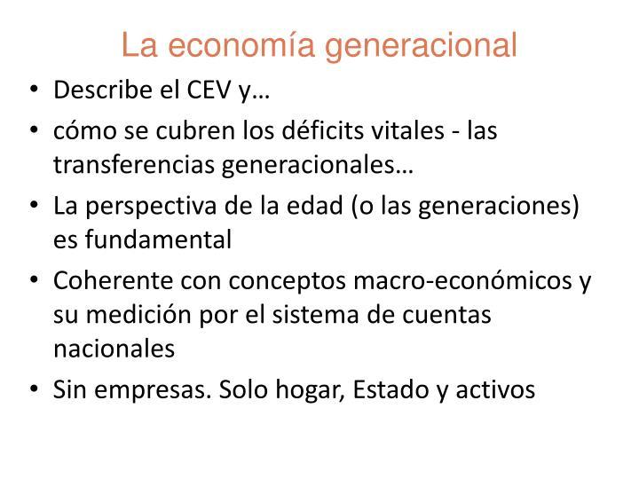 Describe el CEV y…