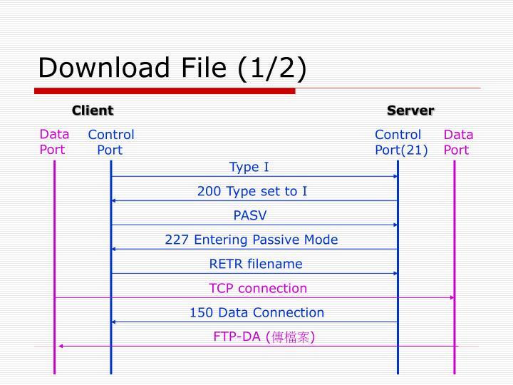 Download File (1/2)