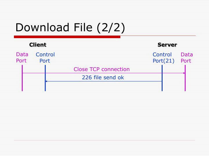 Download File (2/2)
