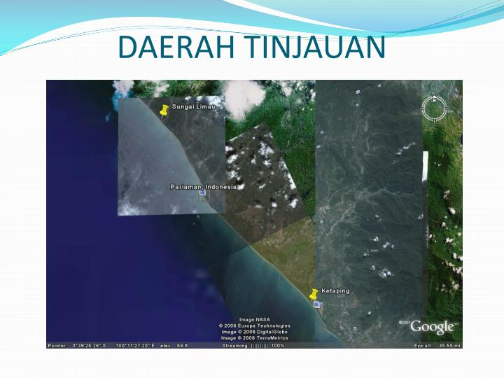 DAERAH TINJAUAN