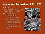 economic recession 1973 1975