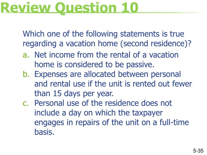 Review Question 10