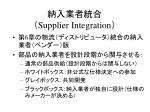 supplier integration