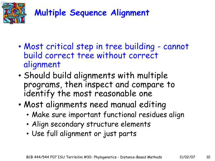 Multiple Sequence Alignment