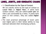 links joints and kinematic chains3