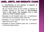 links joints and kinematic chains6