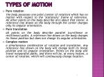 types of motion1