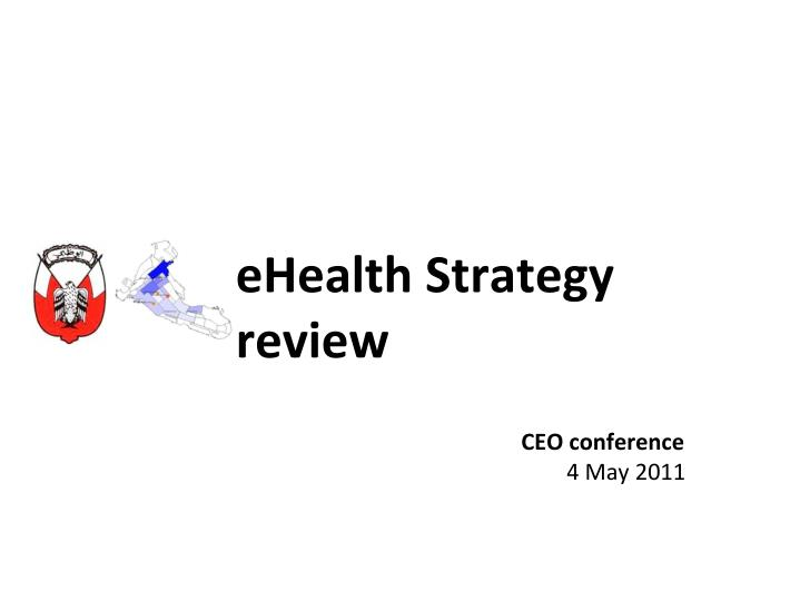 ehealth strategy review n.