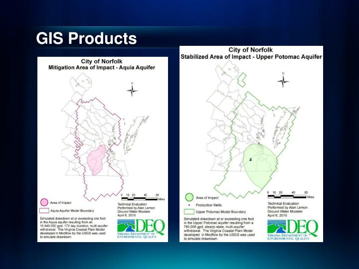 GIS Products