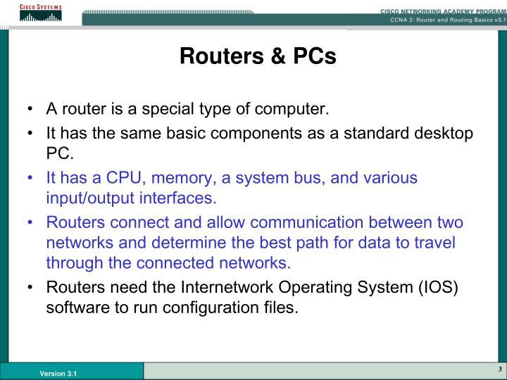Routers & PCs