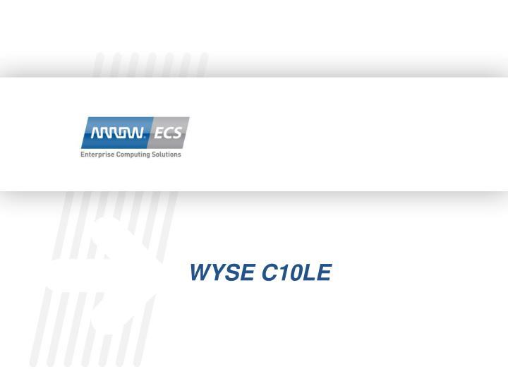Wyse c10le