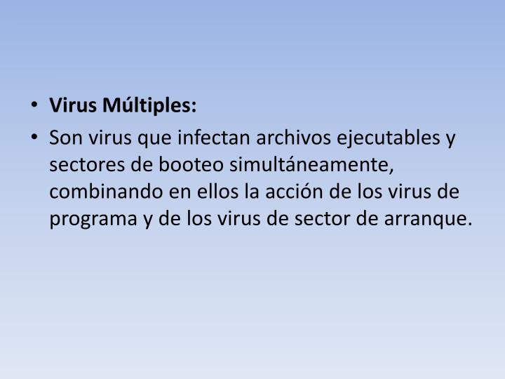 Virus Múltiples: