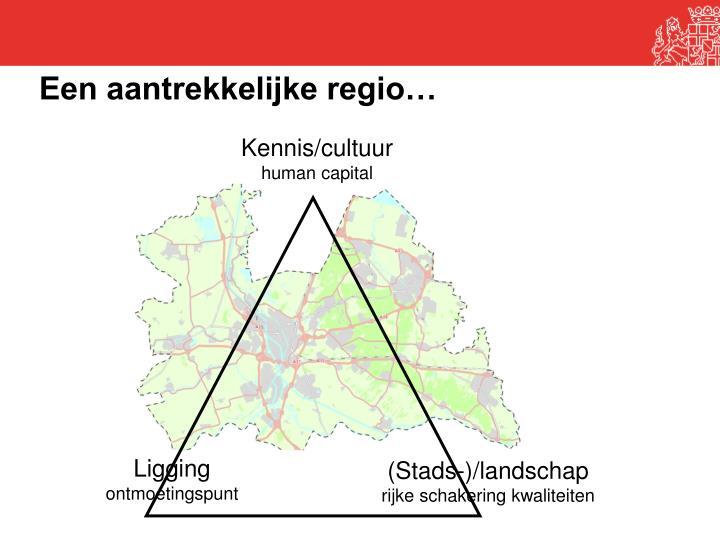 Een aantrekkelijke regio…