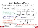 carry lookahead adder