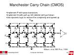 manchester carry chain cmos