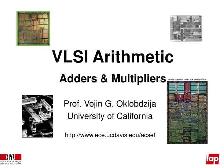 vlsi arithmetic adders multipliers n.