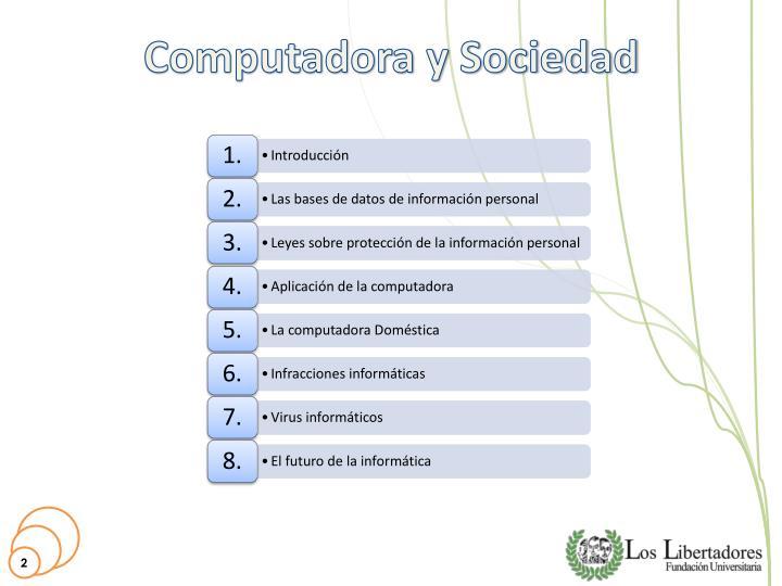 Computadora y sociedad1
