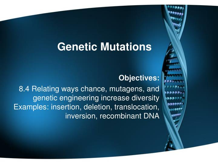 genetic mutations essay Picking strong argumentative essay topics on genetics genetics genetics is the branch of science studies that deals with the study of.
