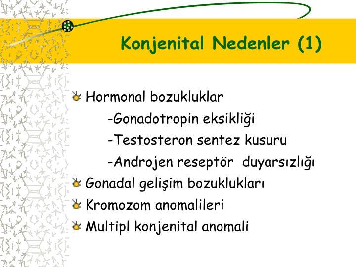 Konjenital Nedenler (1)