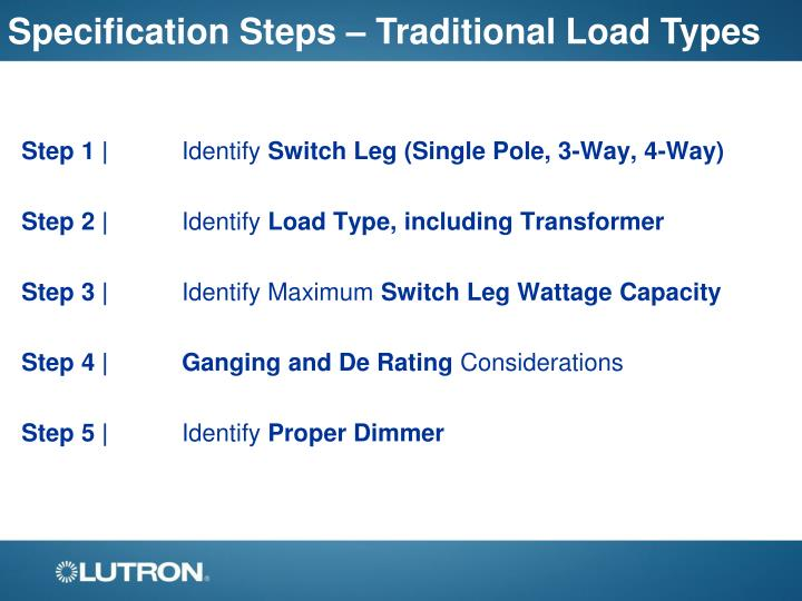 PPT The Lutron RAFT The CLEAR Design Ride PowerPoint Presentation