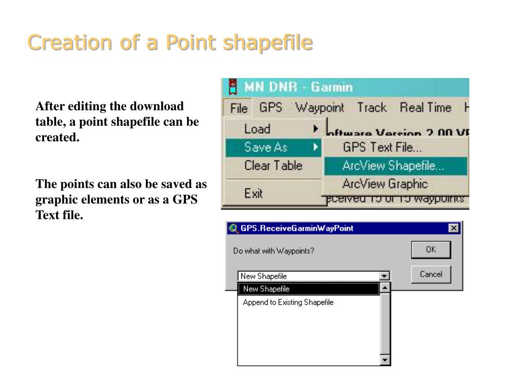 PPT - 8  GPS/GIS Integration Using ArcView Extensions PowerPoint