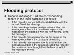 flooding protocol