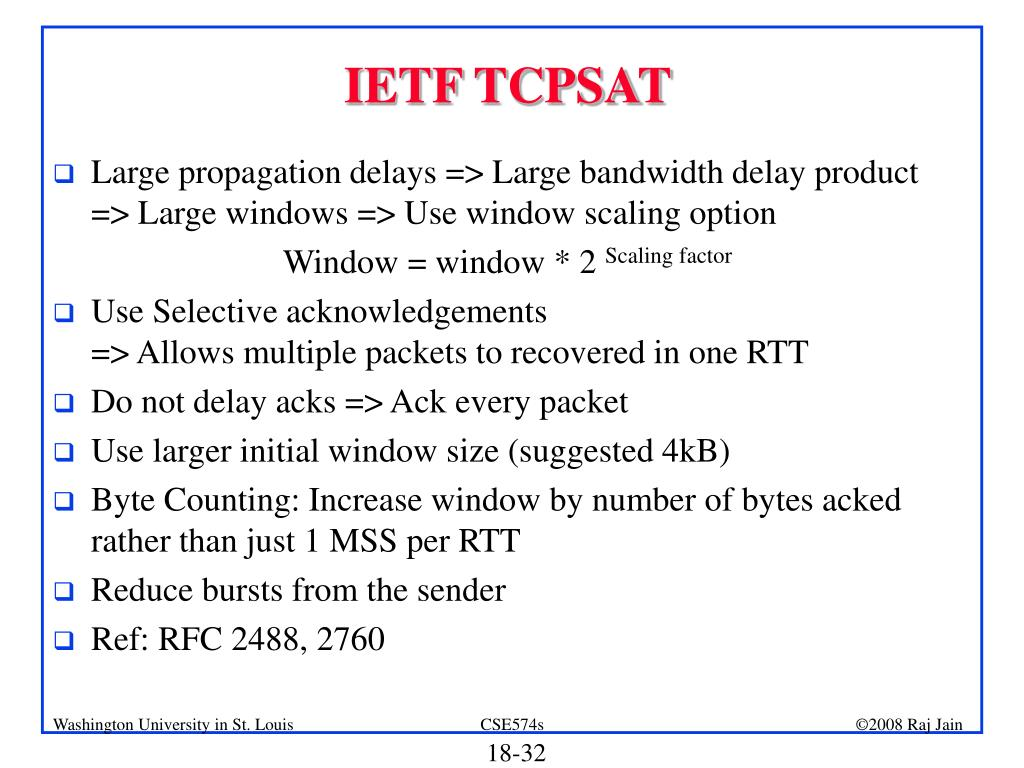 PPT - TCP over Wireless Networks PowerPoint Presentation