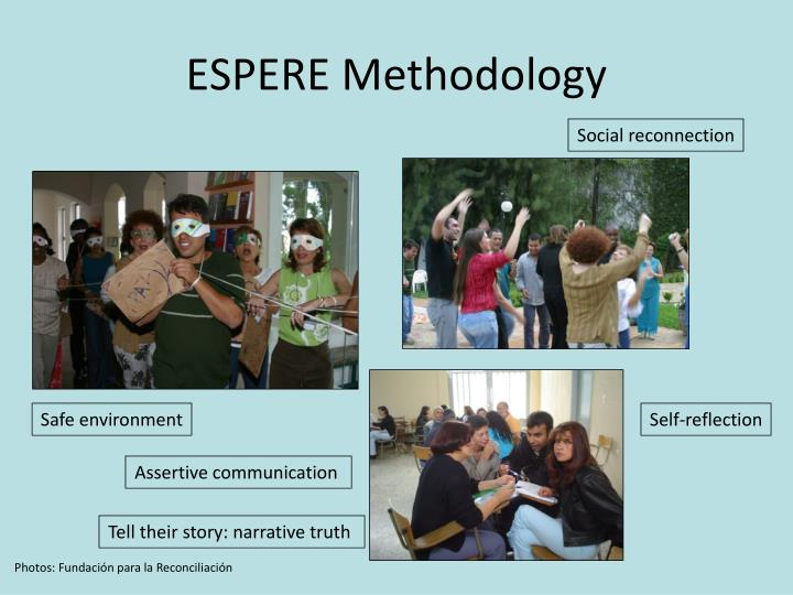 ESPERE Methodology