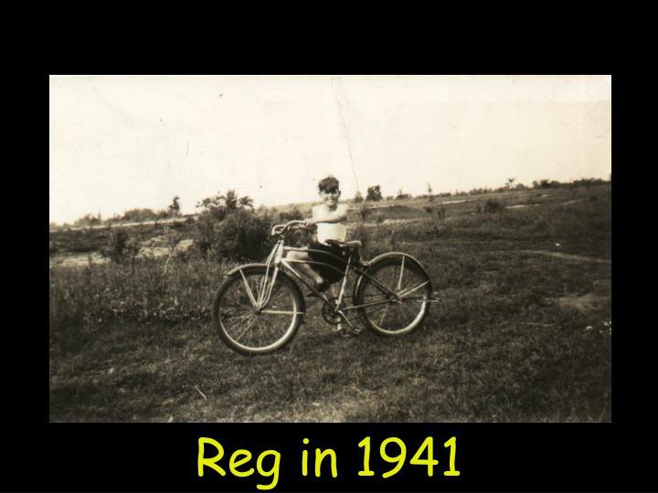 Reg in 1941
