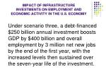 impact of infrastructure investments on employment and economic activity in the u s economy4