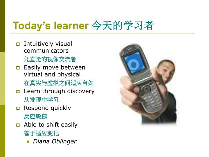 Today's learner