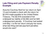 late filing and late payment penalty example