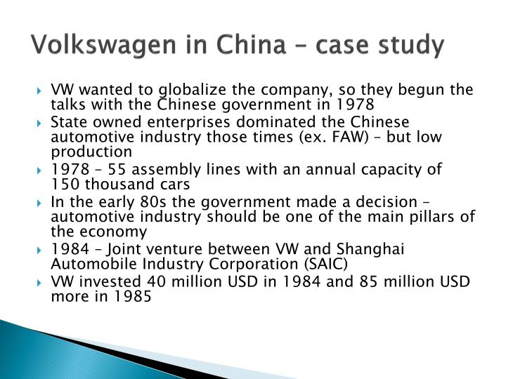 In china case study