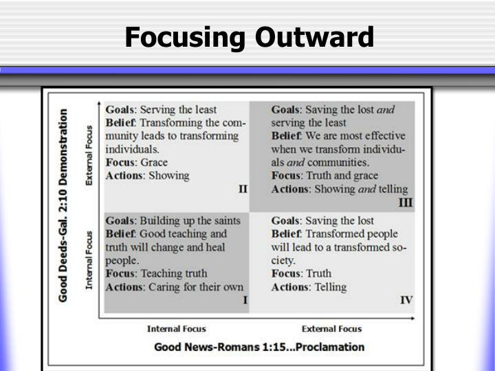 Focusing Outward
