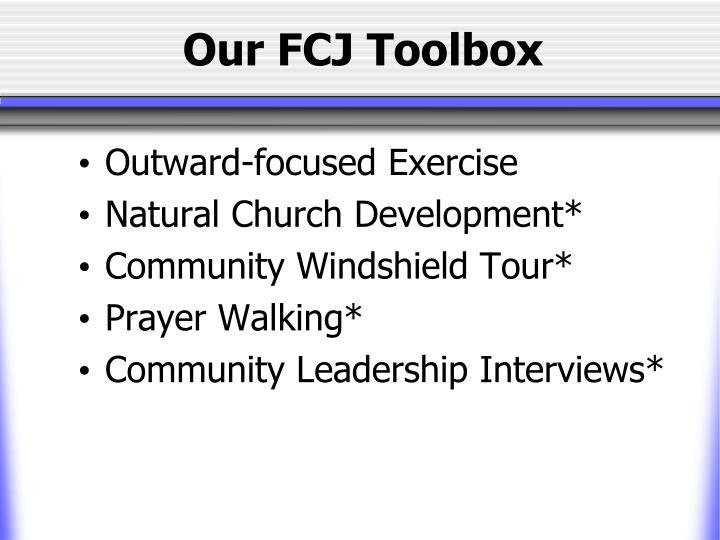 Our FCJ Toolbox