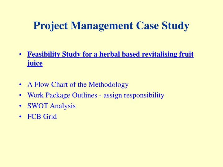 project management case study assignment Project management assignment help offered by reliable assignment help company having experienced and dedicated project management experts fill order form now.