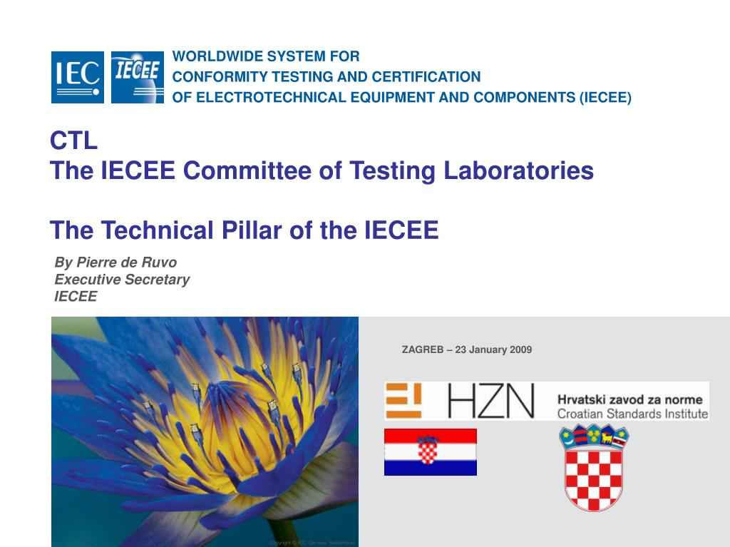 Ppt Ctl The Iecee Committee Of Testing Laboratories The Technical