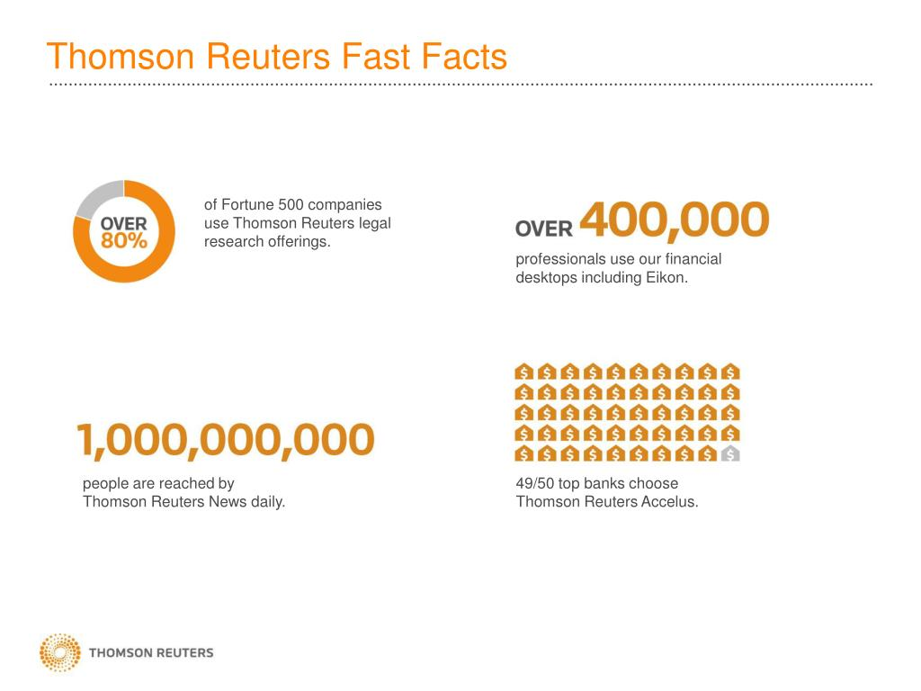 PPT - Thomson Reuters ONESOURCE and Oracle PowerPoint