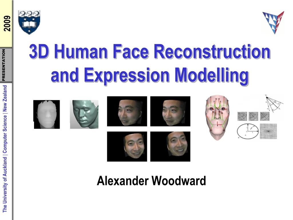 PPT - 3D Human Face Reconstruction and Expression Modelling