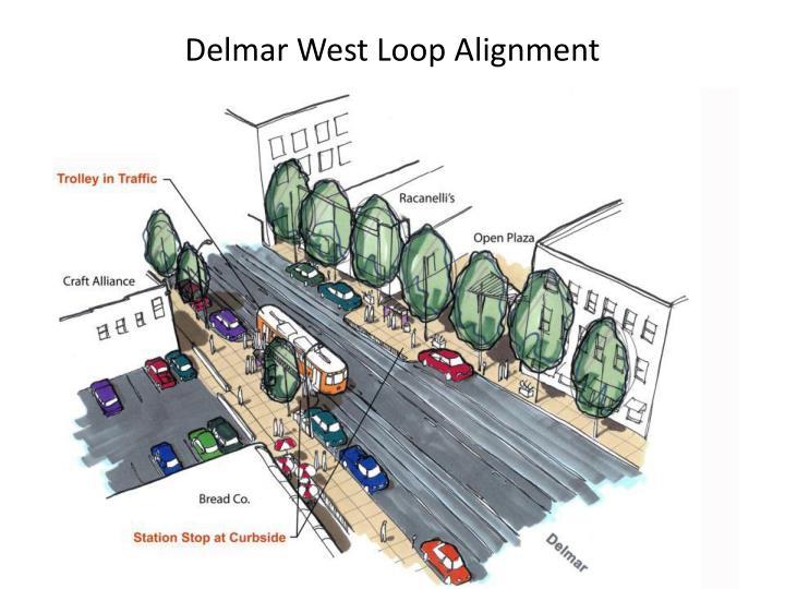 Delmar West Loop Alignment