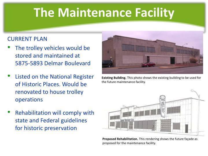 The Maintenance Facility