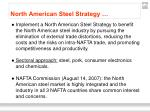 north american steel strategy